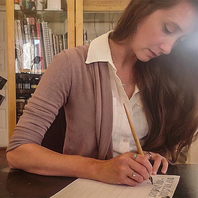 Renee McAdam -- Crossroads Calligraphy